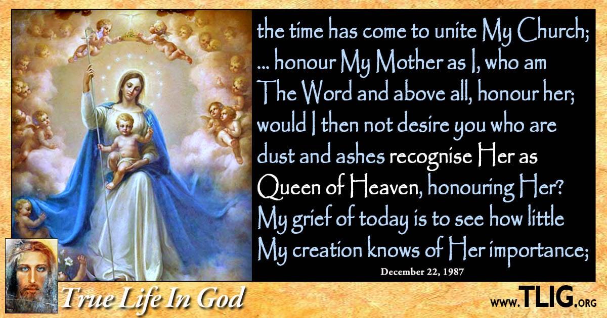 Honour The Queen Of Heaven