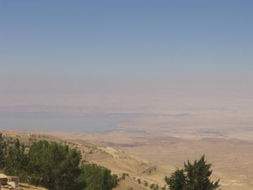 View from Mt. Nebo overlooking the Promised Land